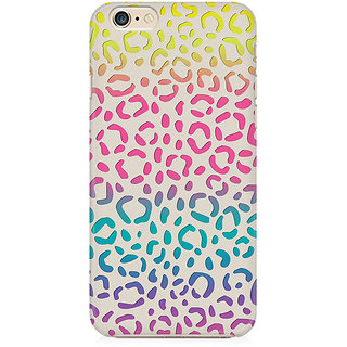 RAYITE Colourful Bubble Preum Printed Mobile Back Case Cover For   6/6s