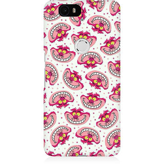 RAYITE Cute Toon Premium Printed Mobile Back Case Cover For Huwaei Nexus 6P