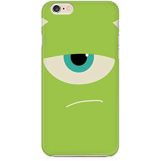 RAYITE Green Monster Preum Printed Mobile Back Case Cover For   6 Plus/6s Plus