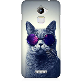 RAYITE Cool Cat Premium Printed Mobile Back Case Cover For Coolpad Note 3 Lite