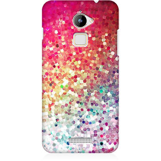 RAYITE Glitter Print Premium Printed Mobile Back Case Cover For Coolpad Note 3 Lite