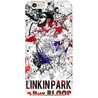 RAYITE Linkin Park Preum Printed Mobile Back Case Cover For   6 Plus/6s Plus