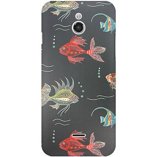 RAYITE Fish Premium Printed Mobile Back Case Cover For InFocus M2