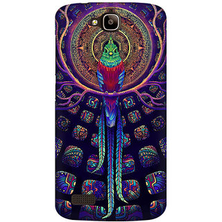 RAYITE Holy Parrot Premium Printed Mobile Back Case Cover For Huawei Honor Holly