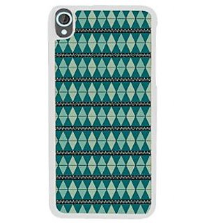 Ifasho Animated Pattern Colrful Tribal Design Back Case Cover For HTC Desire 820