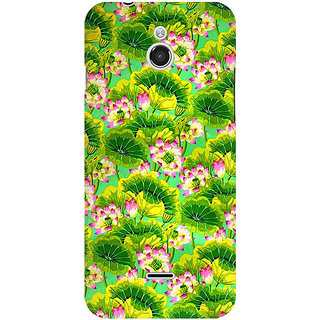 RAYITE Tropical Floral Premium Printed Mobile Back Case Cover For InFocus M2