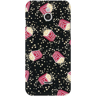 RAYITE Pop Corn Pattern Premium Printed Mobile Back Case Cover For InFocus M2