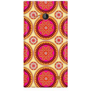 RAYITE Mandala Pattern Premium Printed Mobile Back Case Cover For Nokia Lumia 730