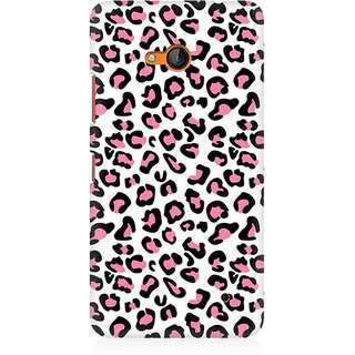 RAYITE Pink Cheetah Pattern Premium Printed Mobile Back Case Cover For Nokia Lumia 640