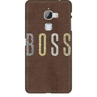 RAYITE Boss Premium Printed Mobile Back Case Cover For LeEco Le Max
