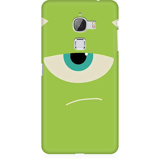 RAYITE Green Monster Premium Printed Mobile Back Case Cover For LeEco Le Max