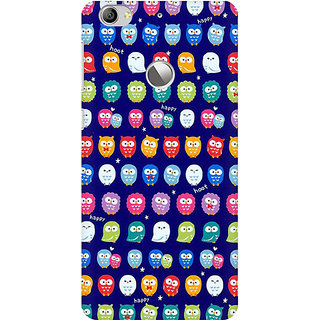 RAYITE Tiny Owl Pattern Premium Printed Mobile Back Case Cover For LeEco Le 1s