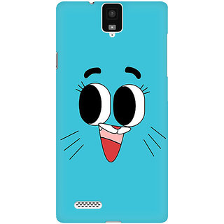 RAYITE Cute Toon Premium Printed Mobile Back Case Cover For InFocus M330