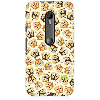 RAYITE Cute Chipmunks Premium Printed Mobile Back Case Cover For Moto X Style