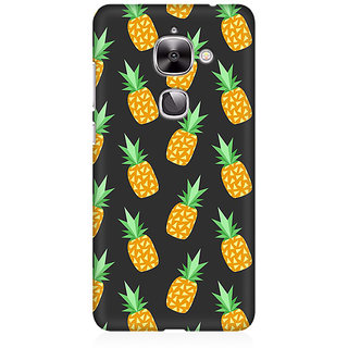 RAYITE Geometric Pineapple Premium Printed Mobile Back Case Cover For LeEco Le 2