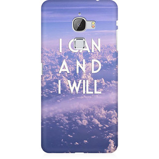 RAYITE I Can And I Will Premium Printed Mobile Back Case Cover For LeEco Le Max