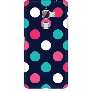 RAYITE Big Polka Dot Premium Printed Mobile Back Case Cover For LeEco Le Max