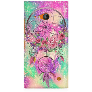 RAYITE Dream Catcher Premium Printed Mobile Back Case Cover For Nokia Lumia 730
