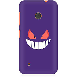 RAYITE Cute Devil Premium Printed Mobile Back Case Cover For Nokia Lumia 530