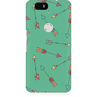 RAYITE Arrows Pattern Premium Printed Mobile Back Case Cover For Huwaei Nexus 6P
