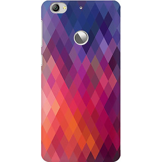 RAYITE Colourful Aztec Premium Printed Mobile Back Case Cover For LeEco Le 1s