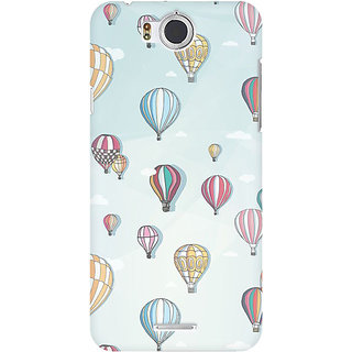 RAYITE Balloon Abstract Premium Printed Mobile Back Case Cover For InFocus M530