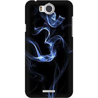 RAYITE Om Smoke Premium Printed Mobile Back Case Cover For InFocus M530