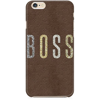 RAYITE Boss Preum Printed Mobile Back Case Cover For   6 Plus/6s Plus