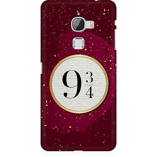 RAYITE Harry Potter 9 3/4 Platform Premium Printed Mobile Back Case Cover For LeEco Le Max
