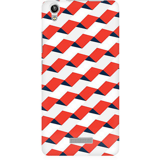 RAYITE 3D Pattern Premium Printed Mobile Back Case Cover For Lava Pixel V1