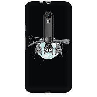 RAYITE Bats On Tree Premium Printed Mobile Back Case Cover For Moto X Style