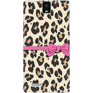 RAYITE Cheetah Gift Wrap Premium Printed Mobile Back Case Cover For InFocus M330
