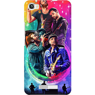 RAYITE Coldplay Art Premium Printed Mobile Back Case Cover For Lava Iris X8