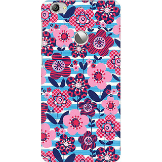 RAYITE Floral Art Premium Printed Mobile Back Case Cover For LeEco Le 1s