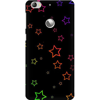 RAYITE Glowing Stars Premium Printed Mobile Back Case Cover For LeEco Le 1s