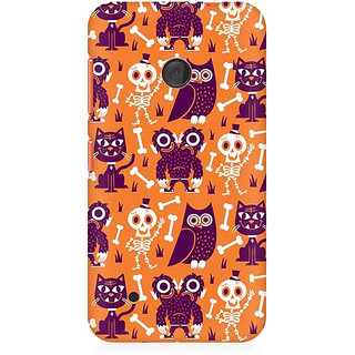 RAYITE Funny Monster Premium Printed Mobile Back Case Cover For Nokia Lumia 530