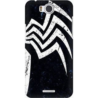 RAYITE Spider Premium Printed Mobile Back Case Cover For InFocus M530