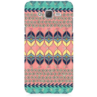 RAYITE Beautiful Aztec  Premium Printed Mobile Back Case Cover For Samsung J1 2016 Version