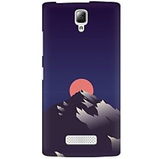 RAYITE Sunset Scenery Premium Printed Mobile Back Case Cover For Lenovo A2010
