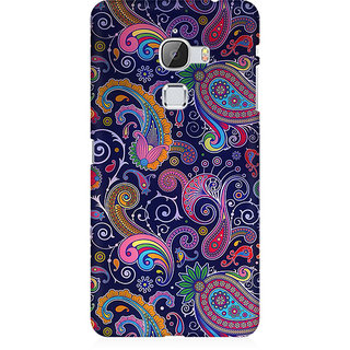 RAYITE Blue Embroidery Premium Printed Mobile Back Case Cover For LeEco Le Max
