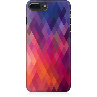 RAYITE Colourful Aztec Preum Printed Mobile Back Case Cover For   7 Plus