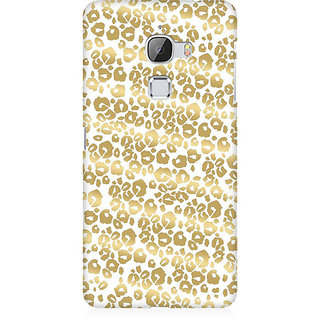 RAYITE Golden Cheetah Pattern Premium Printed Mobile Back Case Cover For LeEco Le Max