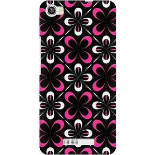 RAYITE Flowery Premium Printed Mobile Back Case Cover For Lava Iris X8