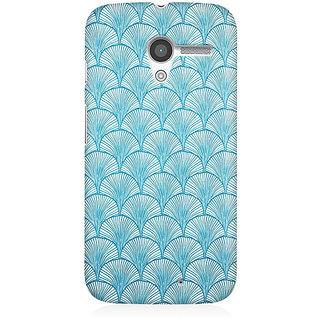 RAYITE Vintage Pattern Premium Printed Mobile Back Case Cover For Moto X