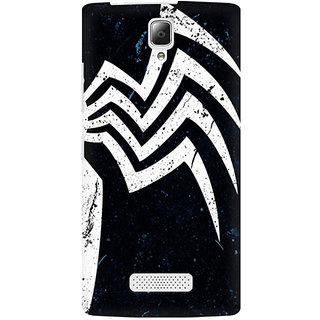 RAYITE Spider Premium Printed Mobile Back Case Cover For Lenovo A2010