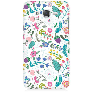 RAYITE Autumn Pattern Premium Printed Mobile Back Case Cover For Samsung J1 2016 Version