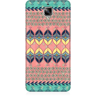 RAYITE Beautiful Aztec  Premium Printed Mobile Back Case Cover For OnePlus Three
