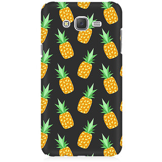 RAYITE Geometric Pineapple Premium Printed Mobile Back Case Cover For Samsung J1 2016 Version