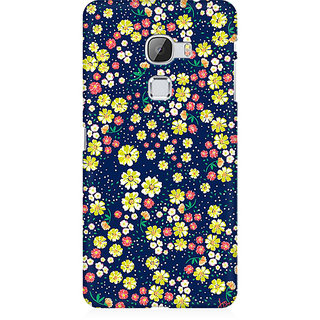 RAYITE Flower Hub Pattern Premium Printed Mobile Back Case Cover For LeEco Le Max