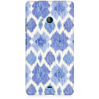 RAYITE Abstract Haze Premium Printed Mobile Back Case Cover For Nokia Lumia 540